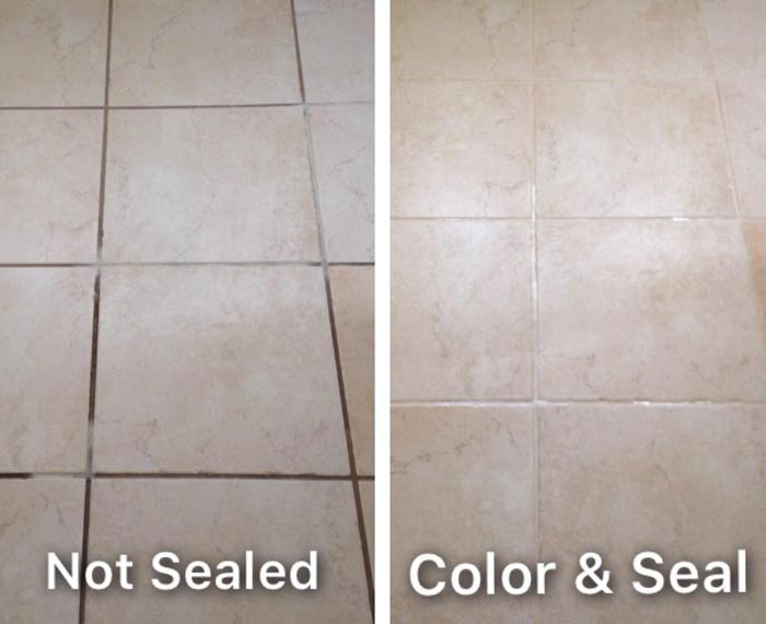 Grout Color Sealing Melbourne