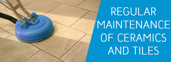 Regular Maintenance of Ceramics and Tiles