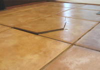 Tile Damage Prevention