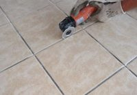How to Regrout The Floor Tiles