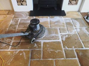 Travertine Tiles Cleaning