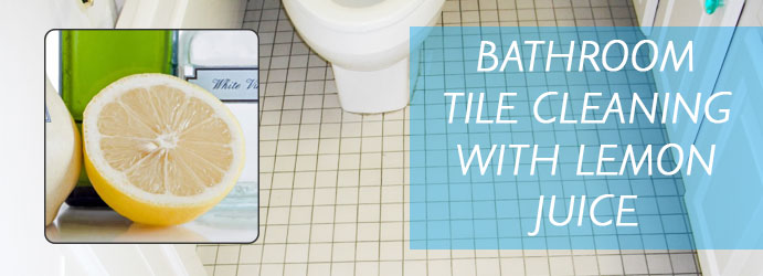 Bathroom Tile Cleaning With Lemon Juice