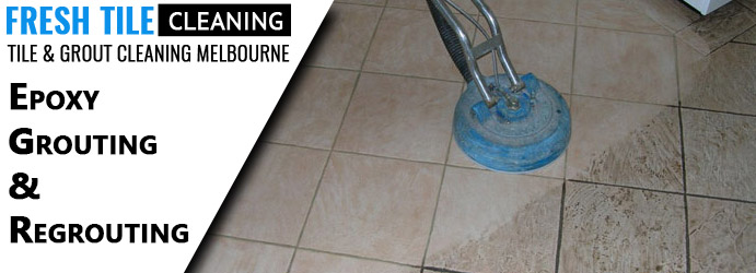 Epoxy Grouting & Regrouting Stones Corner