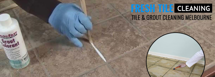 Grout Colour Sealing Sydney