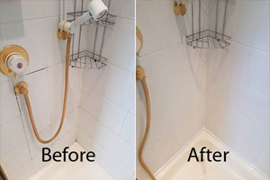 Showers Tile and Grout Restoration Glaziers Bay