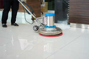 Tile Polishing White Beach