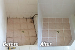Tile and Grout Sealing White Beach