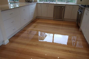 Timber Floor Polishing New Town