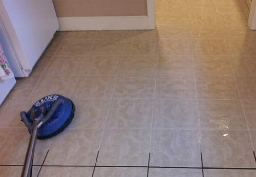 Tile and Grout Cleaning Dowsing Point