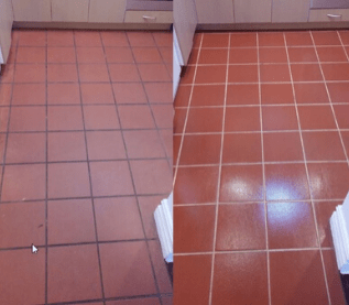 Grout sealing Weston