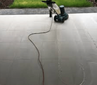 High-Pressure Tile Cleaning Fisher