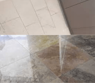 Tile Stripping and restoration Aranda