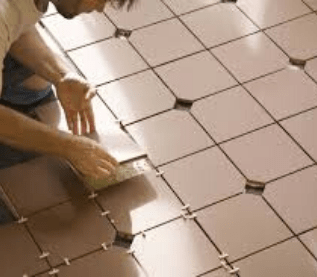 Tile stripping and sealing Holder